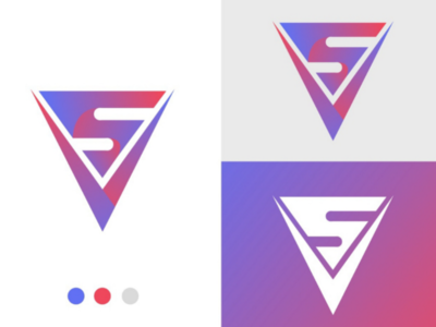 Shop View logo illustration design