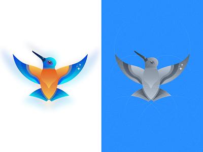 Bird logo proposal 01 vector illustration animal app design icon creative brand birding mark logo bird