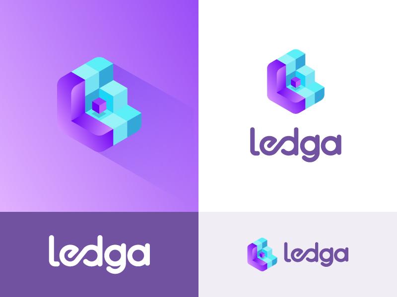 Auditing tool based on blockchain technology Logo finance business network secure platform cube blockchain crypto brand icon mark logo
