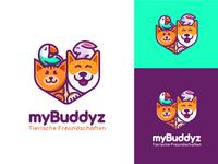 Logo for social app for pet owners