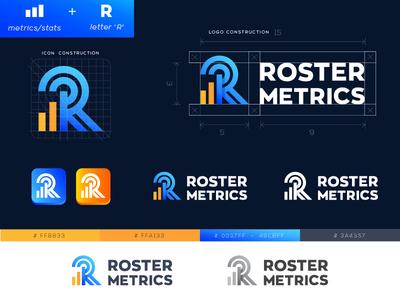 Logo for RosterMetrics