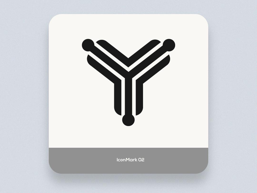 Iconmark 02 letter app vector tech design creative brand icon mark logo