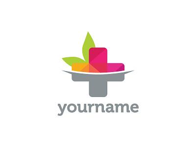 Natural Medicine Logo Design logo for sale branding logotype healthcare healing plants ayurveda doctors practitioners therapists therapies medications pharmacy herbs herbalists medical cross medicine alternative natural