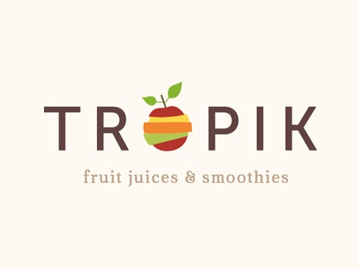 Colorful Fruits Logo Design smoothies juices foods healthfood nutritionist nutritional nutrition healthy yellows reds limes lemons oranges apples colourful colors colorful mixed sliced fruits