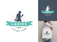 Ladies Living Lean / Fitness Logo Design