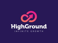 High Ground / Infinite Growth Logo Design