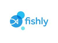 Fish in a Bubble Logo Design