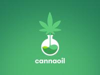 Cannabis Extract / CBD Tincture Logo Design