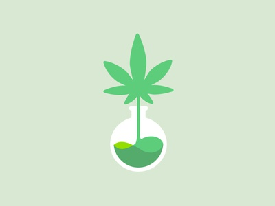 Cannabis Oil Tincture Extract Logo