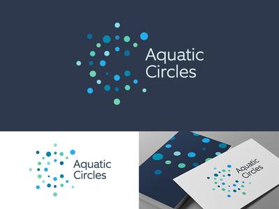 Aquatic Circles Logo Design