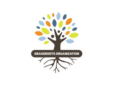 Grassroots Organization / Flourishing Tree Logo Design