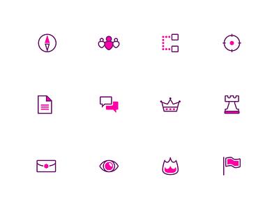 Splash: A duotone icon set (part 2) vector svg duotone iconset illustrator cc design icon
