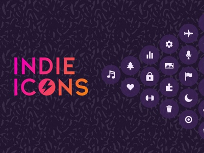 Indie Icon Set efficiency illustrator icons pack icons download free ui svg icons