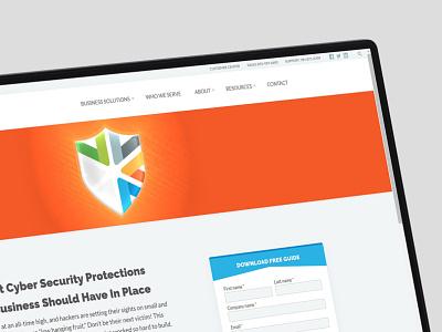Code Shield landingpage photoshop illustrator banner website webpage graphics design graphics