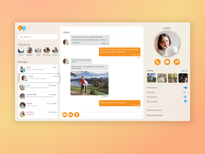 Chatbox message web concept concept chatbox web message chat daily challange dailyui dailyui 013