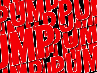 PUMP music art musician sample inspired youtube mad decent video music pump vector web type minimal lettering typography illustrator logo illustration design