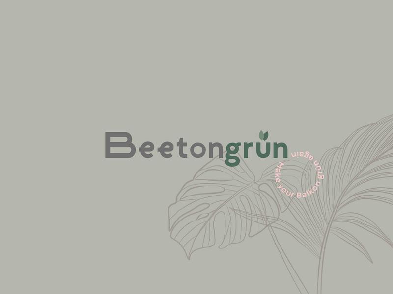 Beetongrün Logo landing page layout design typography ux ui logo editorial design corporate design branding
