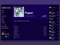 Spotify-esque Music Streaming App