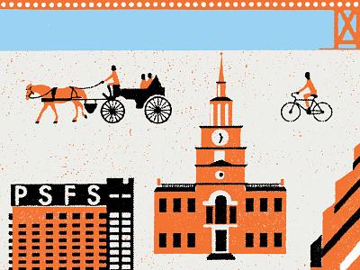 Independence Hall & PSFS independence hall philadelphia city of bro love