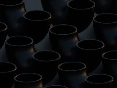 Go with the flow black satisfaction modeling blender3d blender charlieputh ball