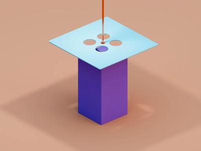 Presser hydraulic compresser loop satisfying oddly presser modeling perspective blender3d blender