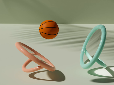 Dribble fun textures glass mirror animation sports lowpolygon basketball lowpoly3d lowpoly blender3d blender
