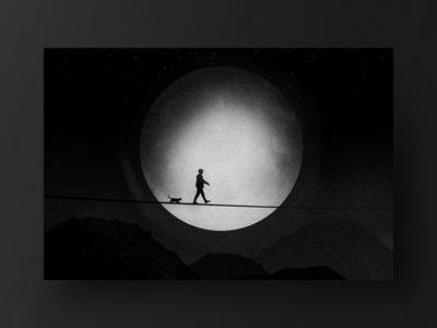 MOONLIGHT WALK 🖤