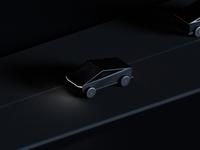 Tesla cybertruck made with blender 🖤