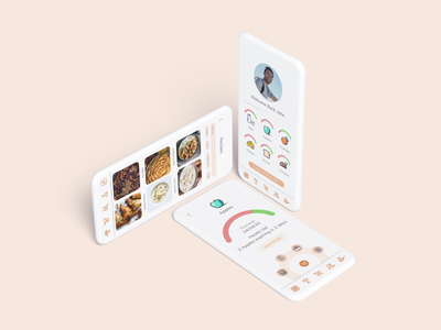 esca: Your Fridge Companion clay designsprint iphone11 mobile foodwaste food casestudy ux ui appdesign app