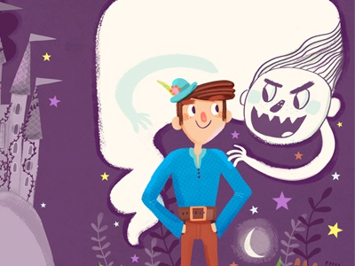 Fairy tale CD cover_04 illustration digital