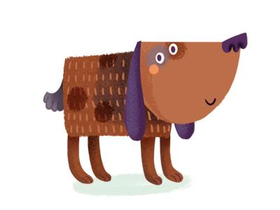 Dog illustration digital ipad app game fox