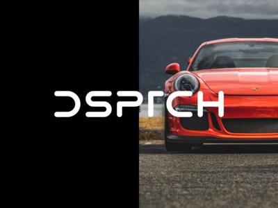 DSPTCH Logo Vignettes post production video empirika logo icon branding