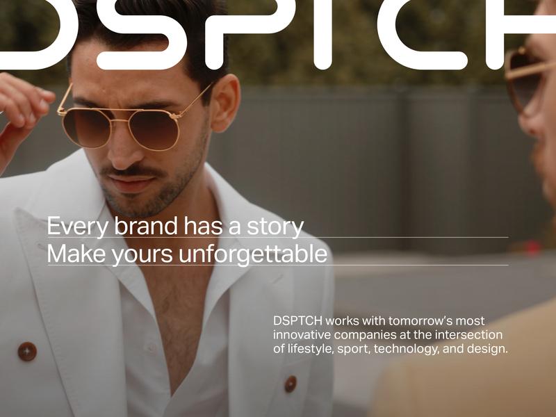 DSPTCH Studios Hero Vignettes agency video post production production empirika dsptch concept hero image