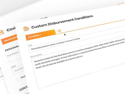 Creating new loan application design dashboard ui dashboad application loan finance fintech