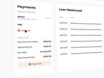 Adding card as payment method dashboad finance app best shot best scan scanner banking finance ux ui creditcard