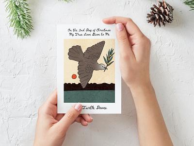 Greeting Card illustration vector illustration vector art print design card design print card typography design illustration