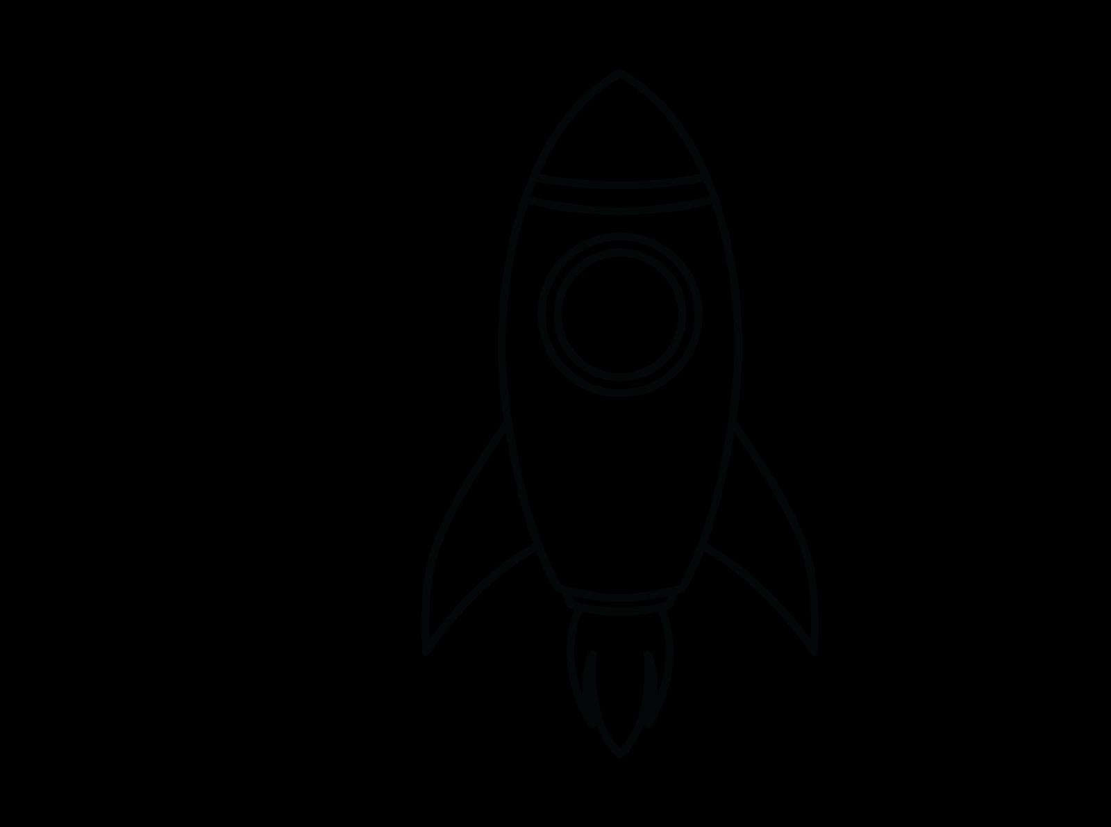 Coloring Rocket For Kids By Kidscorner On Dribbble