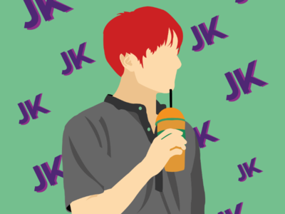 JK (version 2) tinytan illustrator jungkook bts
