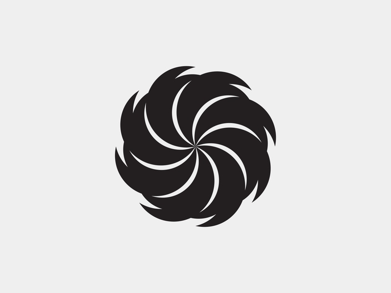 Black Flower brand design flower illustration flower logo flower black branding design brand logos design logo logo design logodesign logo graphic design graphicdesign designs vektor design