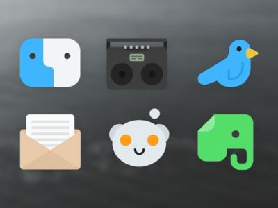 iOS / OS X Icon Theme - Kvasir II