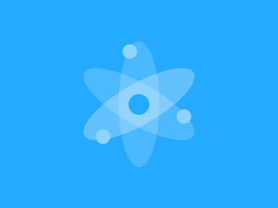 Cortex cortex logo atom blue