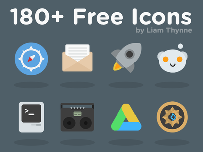 Kvasir: 180+ Free Icons kvasir icons download freebie free psd ios os x