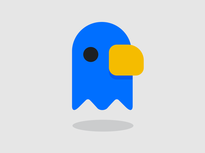 Eagle - Twitter iOS Icon twitter lucy eagle blue bird theme ios