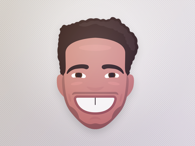 Reggie caricature illustration portrait face