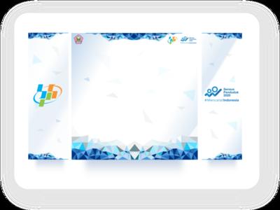 Census Socialization Backdrop inkscape design backdrop
