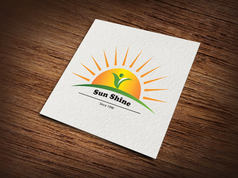 SUNSHINE Logo (LOGO DESIGN) design awesome logo unique logo graphics design minimalist logo adobe photoshop adobe illustrator illustration brandidentity branding boutique logo construction logo real estate logo amazing logo modern logo logomaker logotype logo sunshine logo sunshine