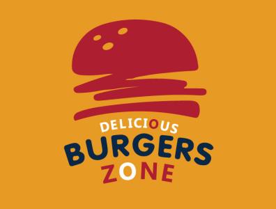 BURGER LOGO Design modern logo brand identity business logo adobe photoshop illustration graphic design graphics restaurant logo fastfood junk food food logo burger logo burger logo design logo