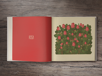 Rose (book spread)