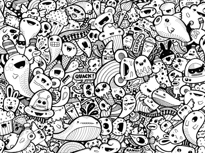 Kawaii Doodle 1 By Pixelpants On Dribbble
