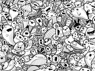 Kawaii doodle #1
